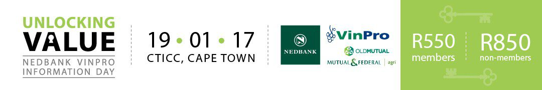 Unlocking wine value – Nedbank VinPro Information Day