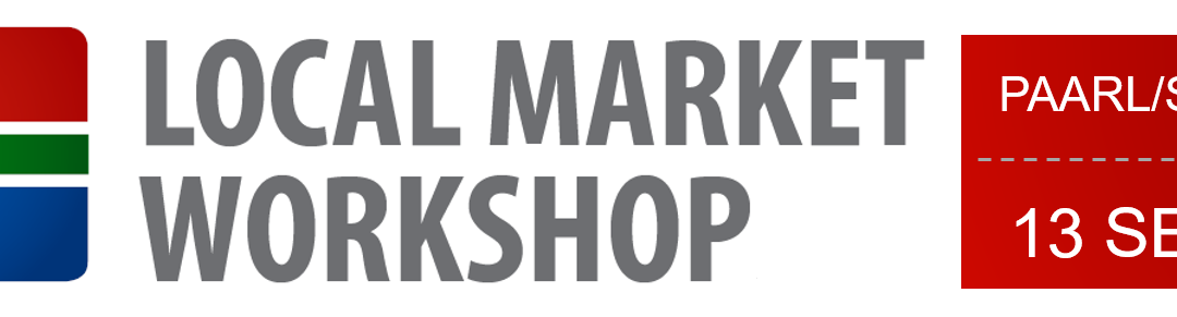 Local Market Workshop: Paarl/Swartland